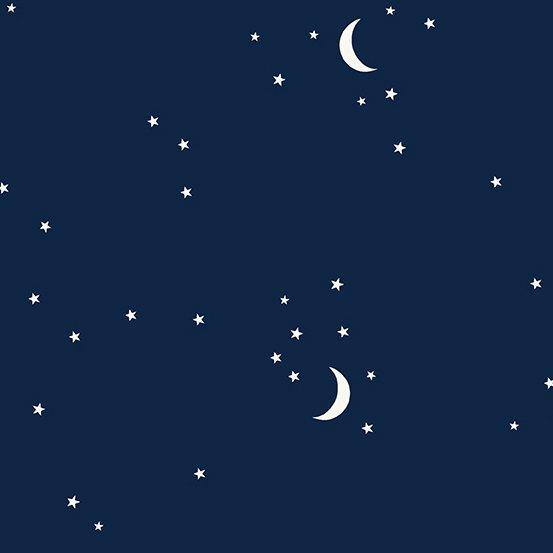 Andover Moon and Stars - Navy