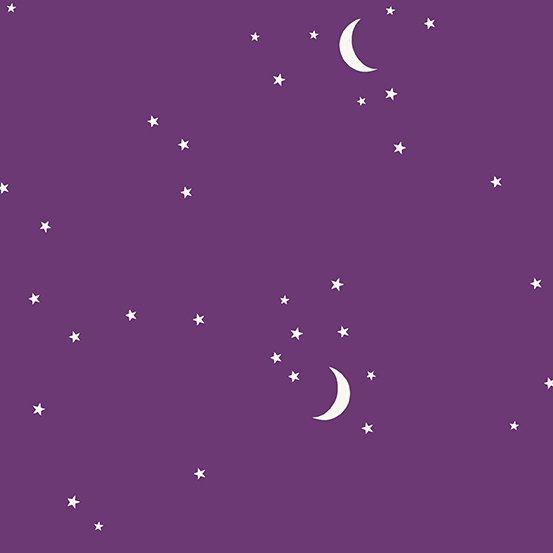 Andover Moon and Stars - Purple