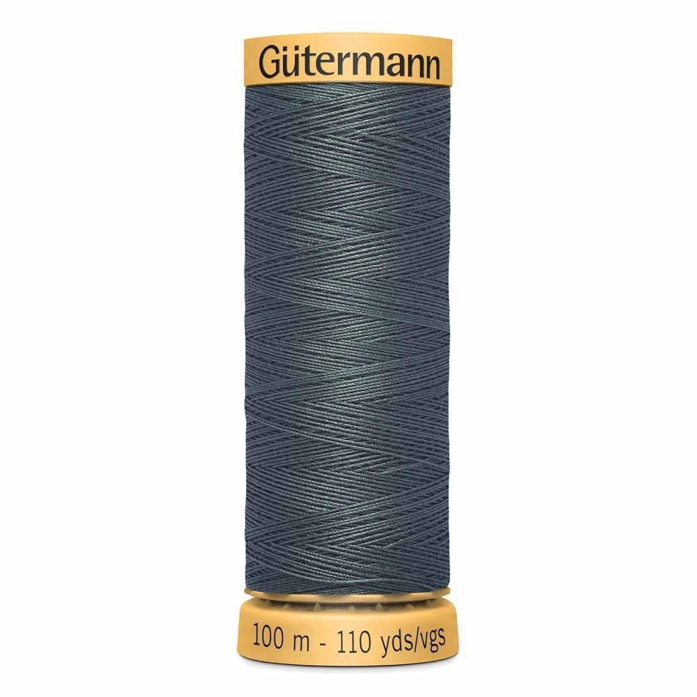 Gutermann Cotton Thread 100m - Black Teal 7548