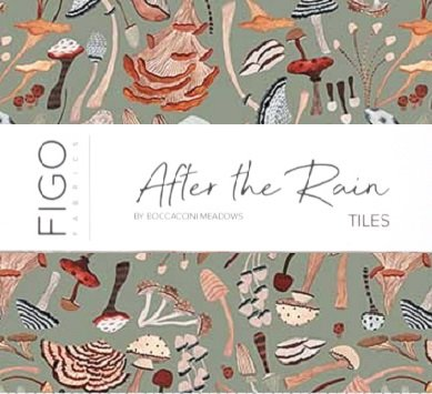 Figo After the Rain 10 Tiles (Includes a FREE pattern!)