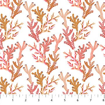 Figo Sea Botanica Corals - White