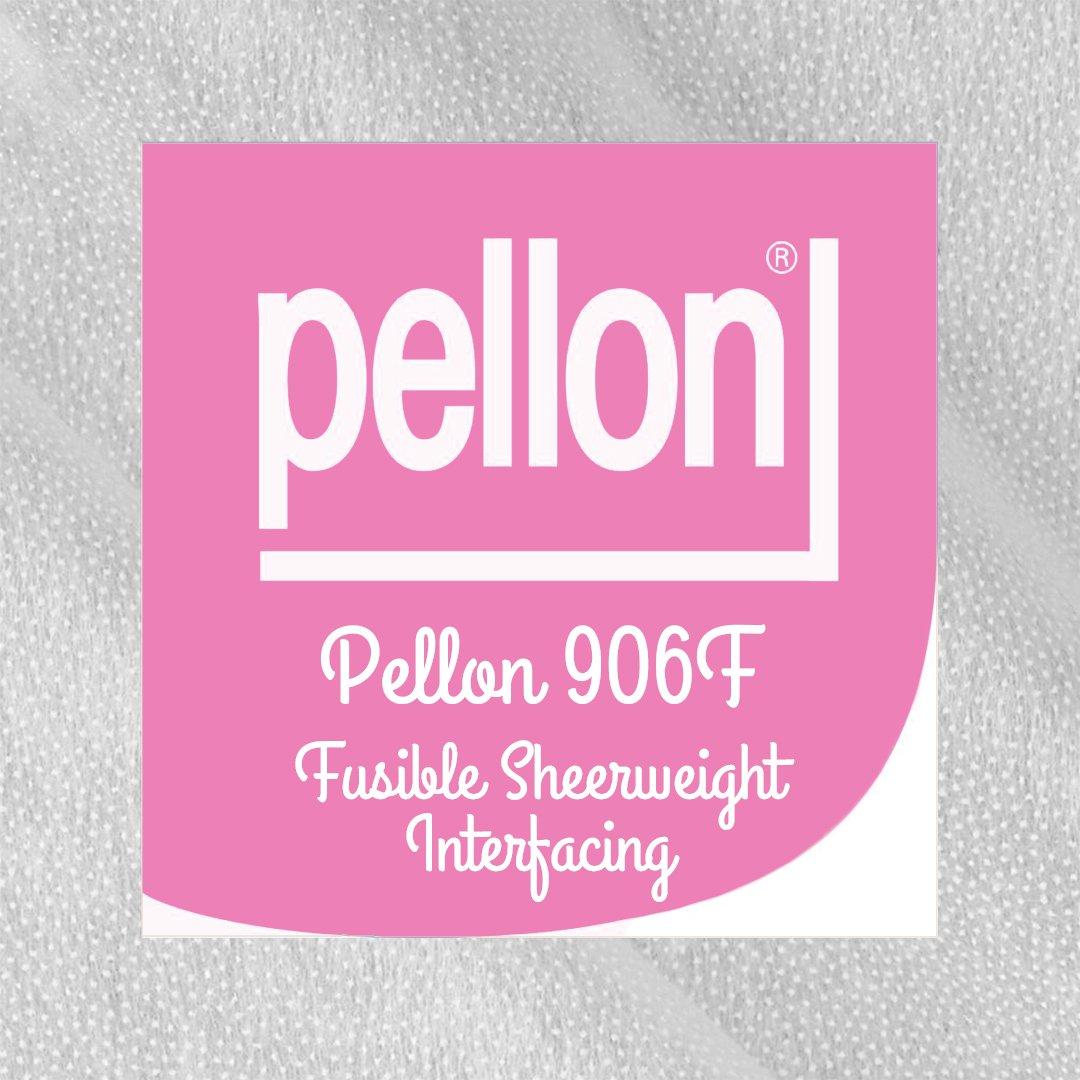 Pellon 906F Sheer Weight Fusible Interfacing - 20 Wide