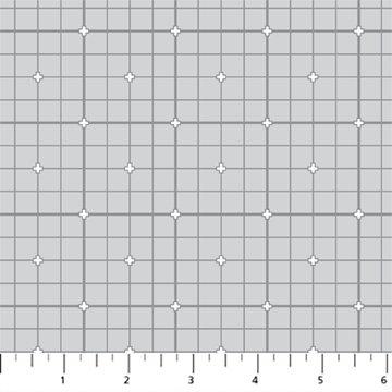 Figo Serenity Basics Grid - Light Grey