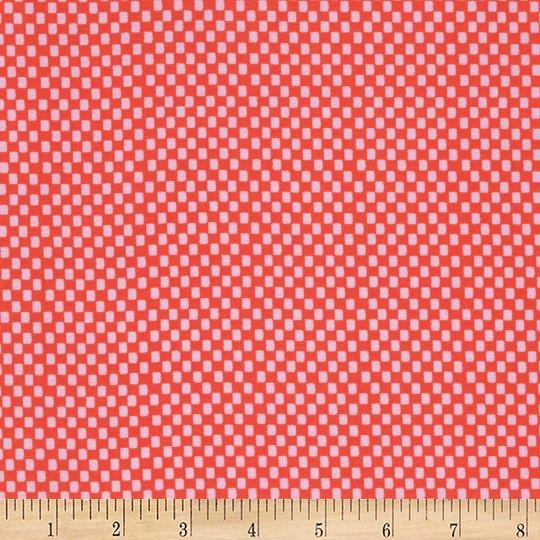 Rifle Paper Amalfi Checker - Red (Min order 1m)