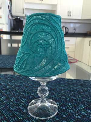 Billie S-2016 Wine Glass Lampshade