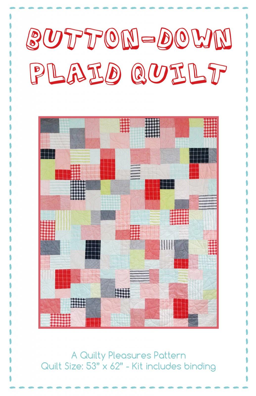 Quilty Pleasures Button-Down Plaid Pattern