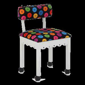 Chair Scallop (Button,white)