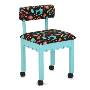 Chair Scallop (Sewing Notions, blue)