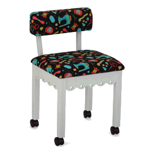 Chair Scallop (Sewing Notions ,white)