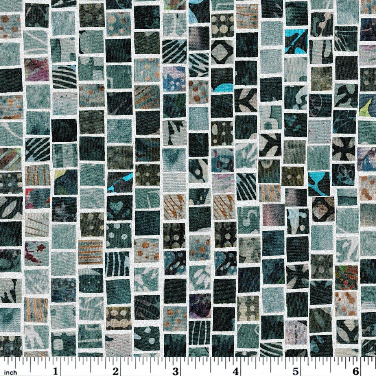 Hoffman Mosaic Masterpiece Digital - Charcoal