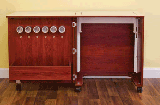 Create Cabinet-open