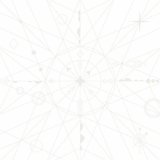 Andover Hopscotch Compass - Cottonball