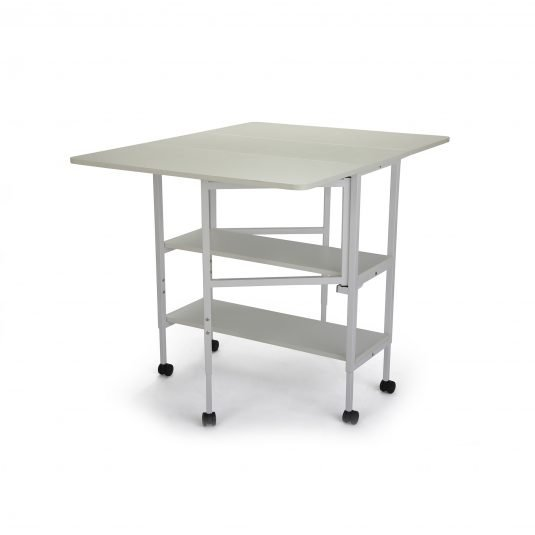 Arrow Dixie Adjustable Cutting Table - White only, RTA only