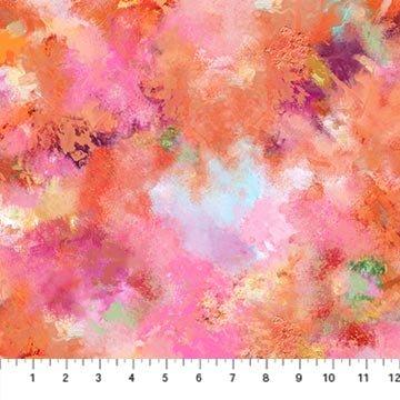 Northcott September Morning - Multi Colour (o.9 m remnant)
