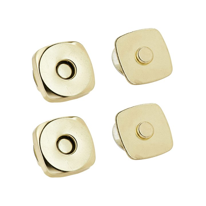 Dritz 3/4 Magnetic Snaps - Gilt, Set of 2