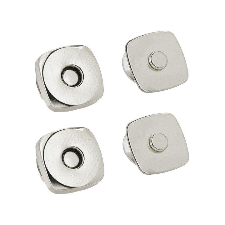 Dritz 3/4 Magnetic Snaps - Nickel, Set of 2