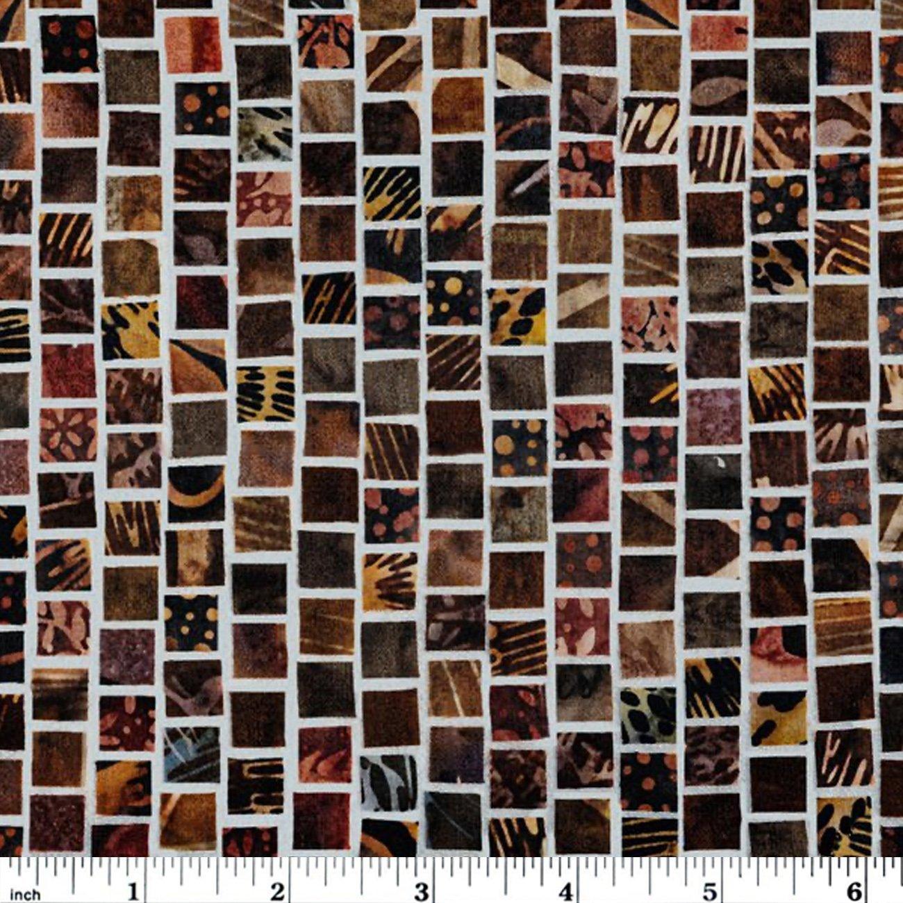Hoffman Mosaic Masterpiece Digital - Earth