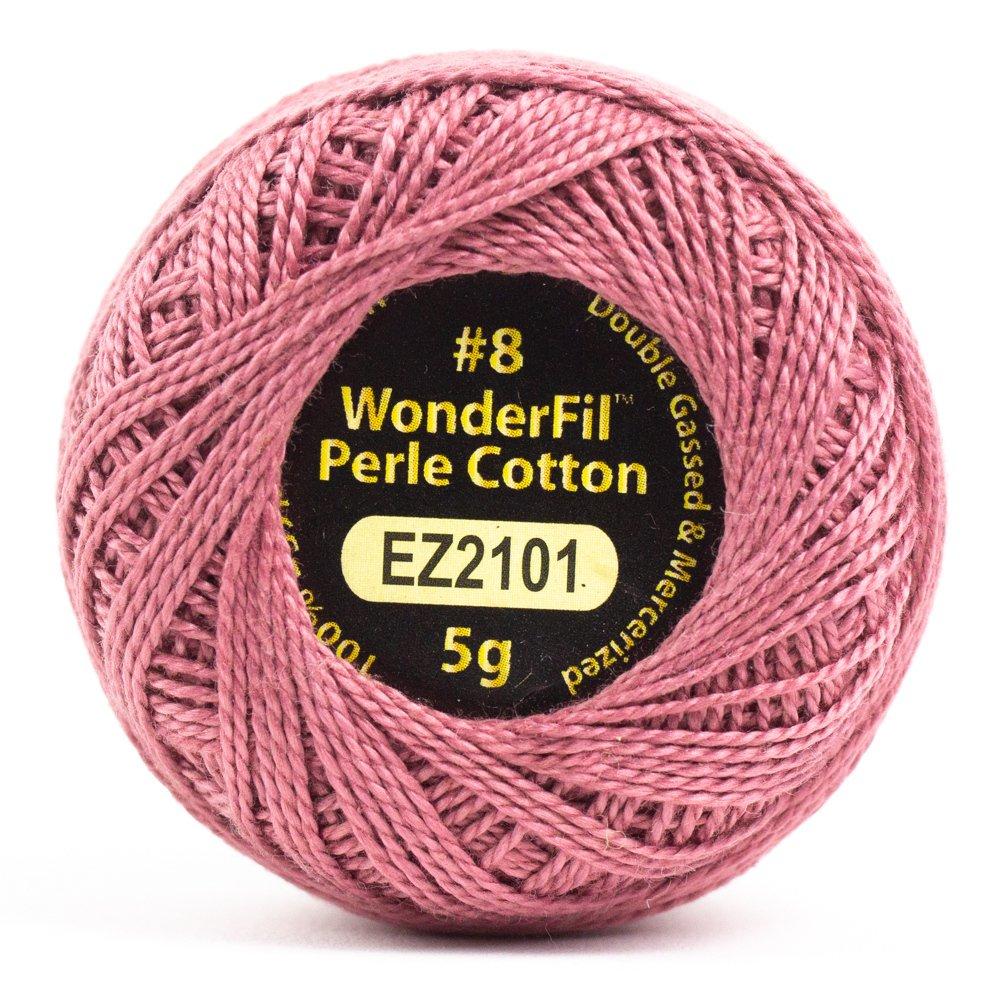 Eleganza 8wt 5-Gram Perle Cotton Ball 42yd - Auburn