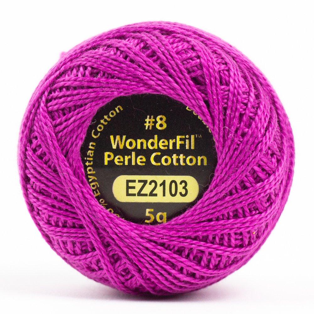 Eleganza 8wt 5-Gram Perle Cotton Ball 42yd - Dahlia