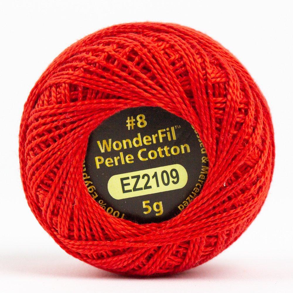 Eleganza 8wt 5-Gram Perle Cotton Ball 42yd - Poppy
