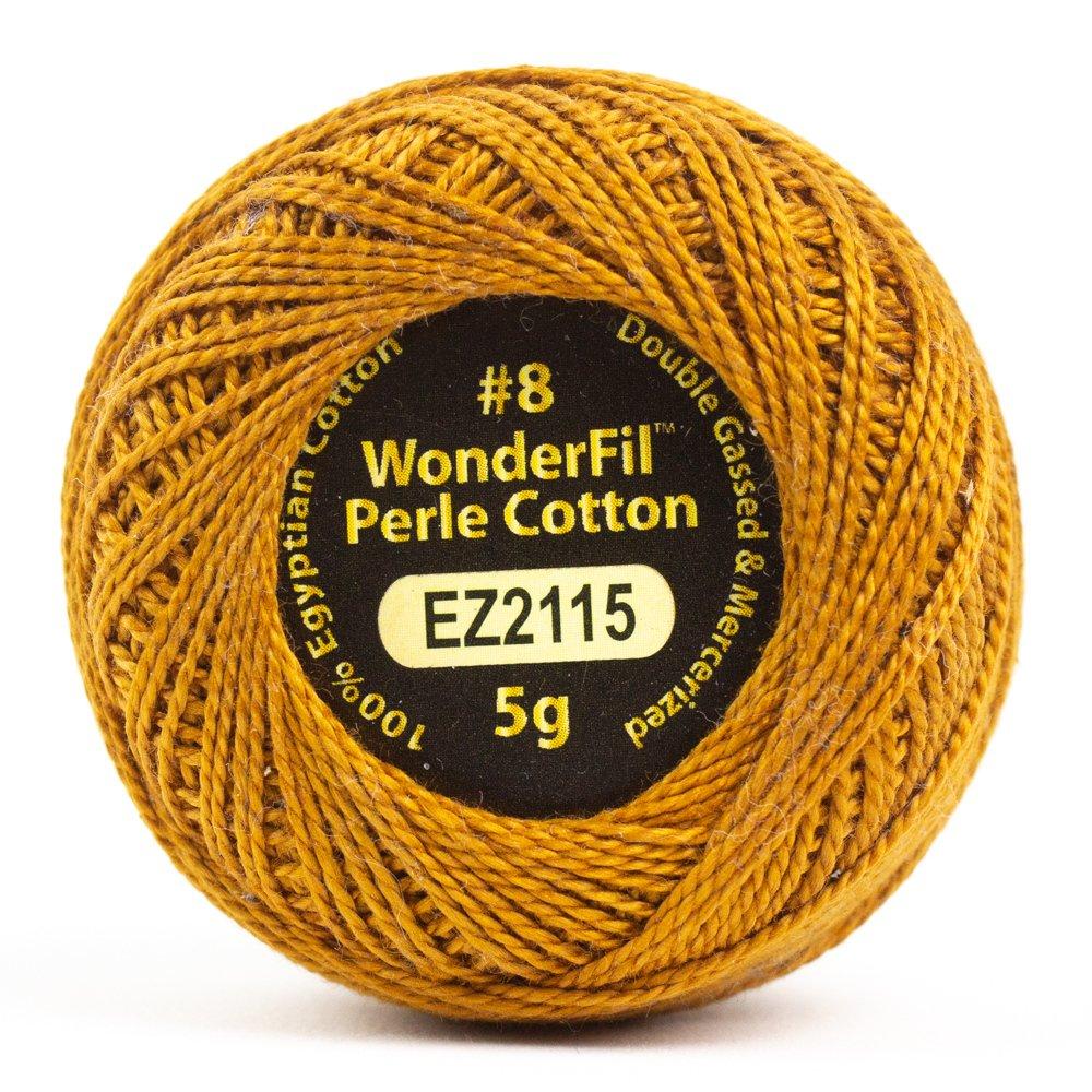 Eleganza 8wt 5-Gram Perle Cotton Ball 42yd - Yarrow