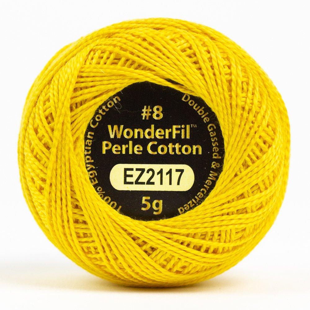 Eleganza 8wt 5-Gram Perle Cotton Ball 42yd - Sunshine