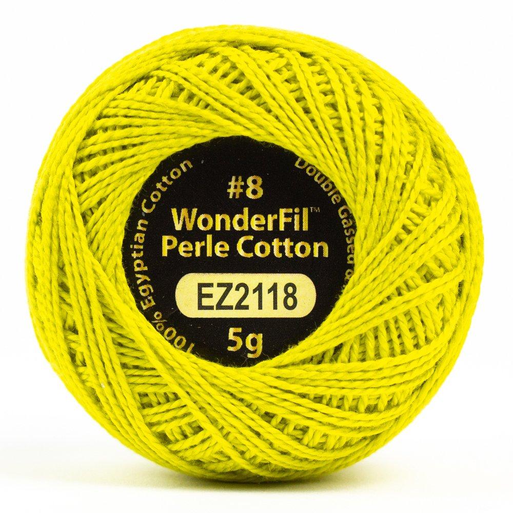 Eleganza 8wt 5-Gram Perle Cotton Ball 42yd - Sulfur