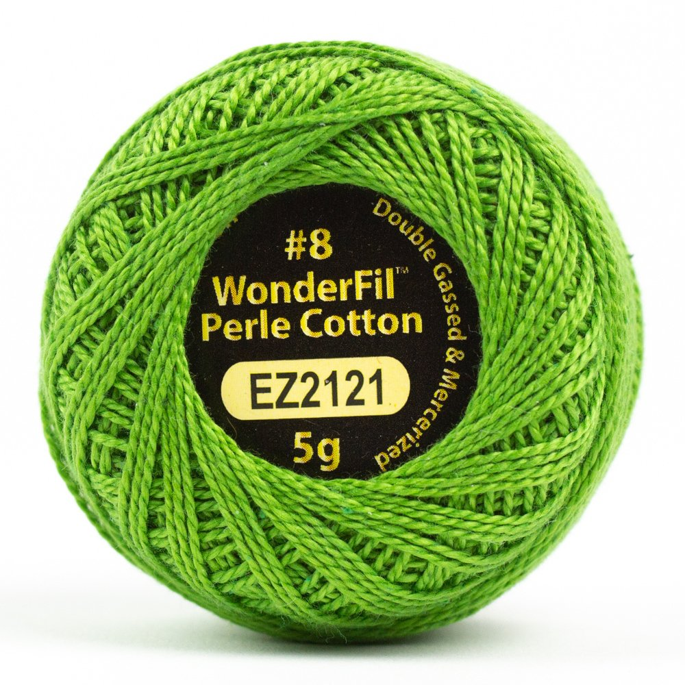 Eleganza 8wt 5-Gram Perle Cotton Ball 42yd - Shamrock