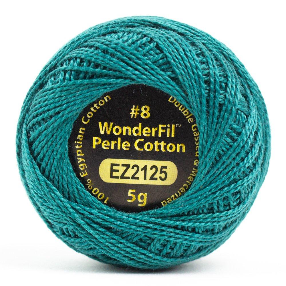 Eleganza 8wt 5-Gram Perle Cotton Ball 42yd - Grasshopper