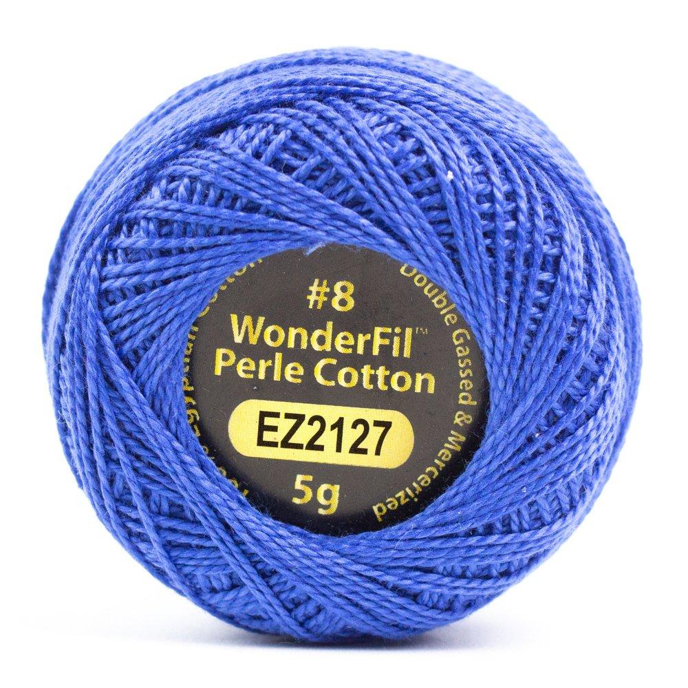 Eleganza 8wt 5-Gram Perle Cotton Ball 42yd - Hydrangea