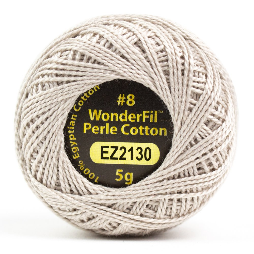 Eleganza 8wt 5-Gram Perle Cotton Ball 42yd - Flax