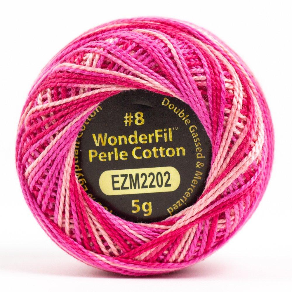 Eleganza 8wt 5-Gram Variegated Perle Cotton Ball 42yd - Cosmos