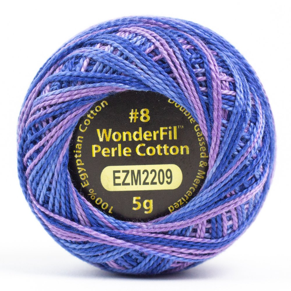 Eleganza 8wt 5-Gram Variegated Perle Cotton Ball 42yd - Liberty