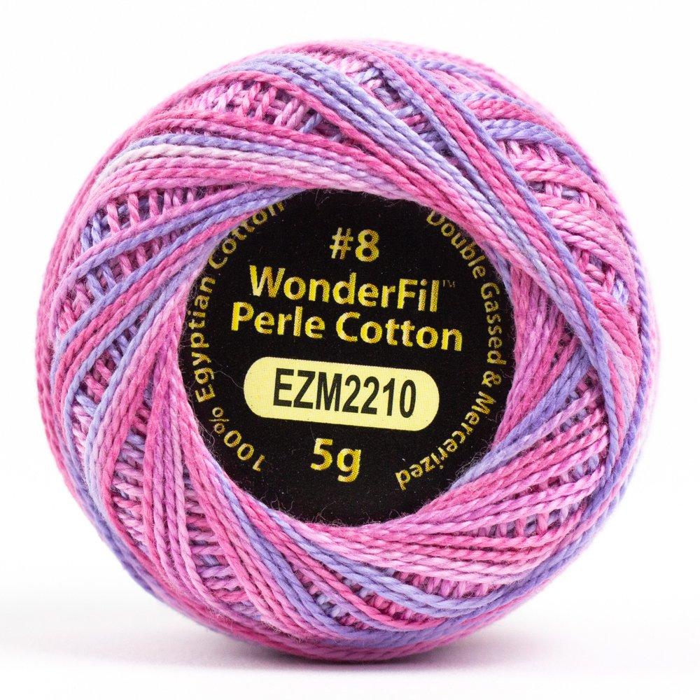 Eleganza 8wt 5-Gram Variegated Perle Cotton Ball 42yd - Unicorn