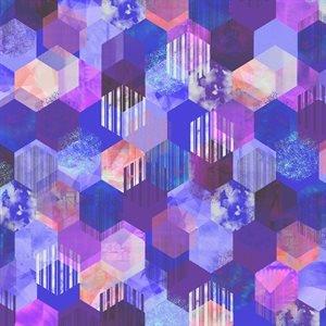 RJR Geometry Digiprint - Violet (0.3m Remnant)
