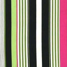 Michael Miller Midday at the Oasis Starboard Stripe - Multi (Min order 1m)
