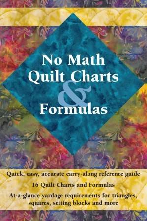 Book no Math Quilt Charts & Formulas