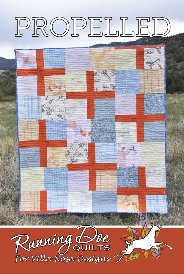 Propelled Quilt Pattern Card