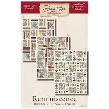 Antler Quilt Design Reminiscence Pattern