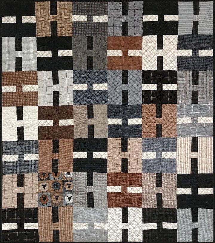 Sheep Optional Quilt Kit - 51x59.5