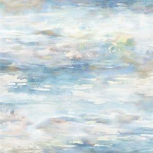 Hoffman Shoreline Stories Digital Watery Texture - Mist