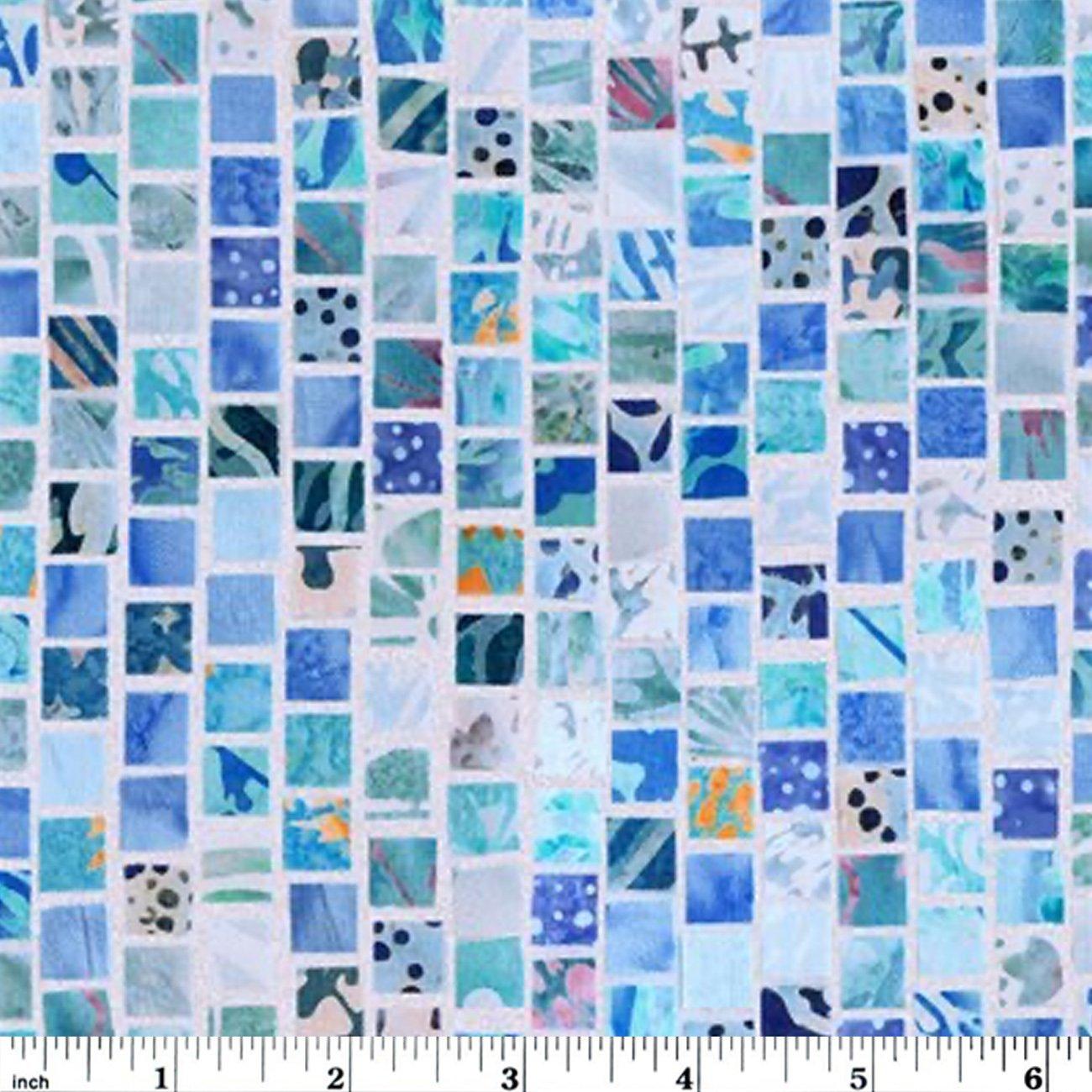 Hoffman Mosaic Masterpiece Digital - Sky