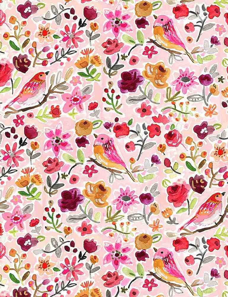 Dear Stella Pardon My French Parisian Birds - Multi