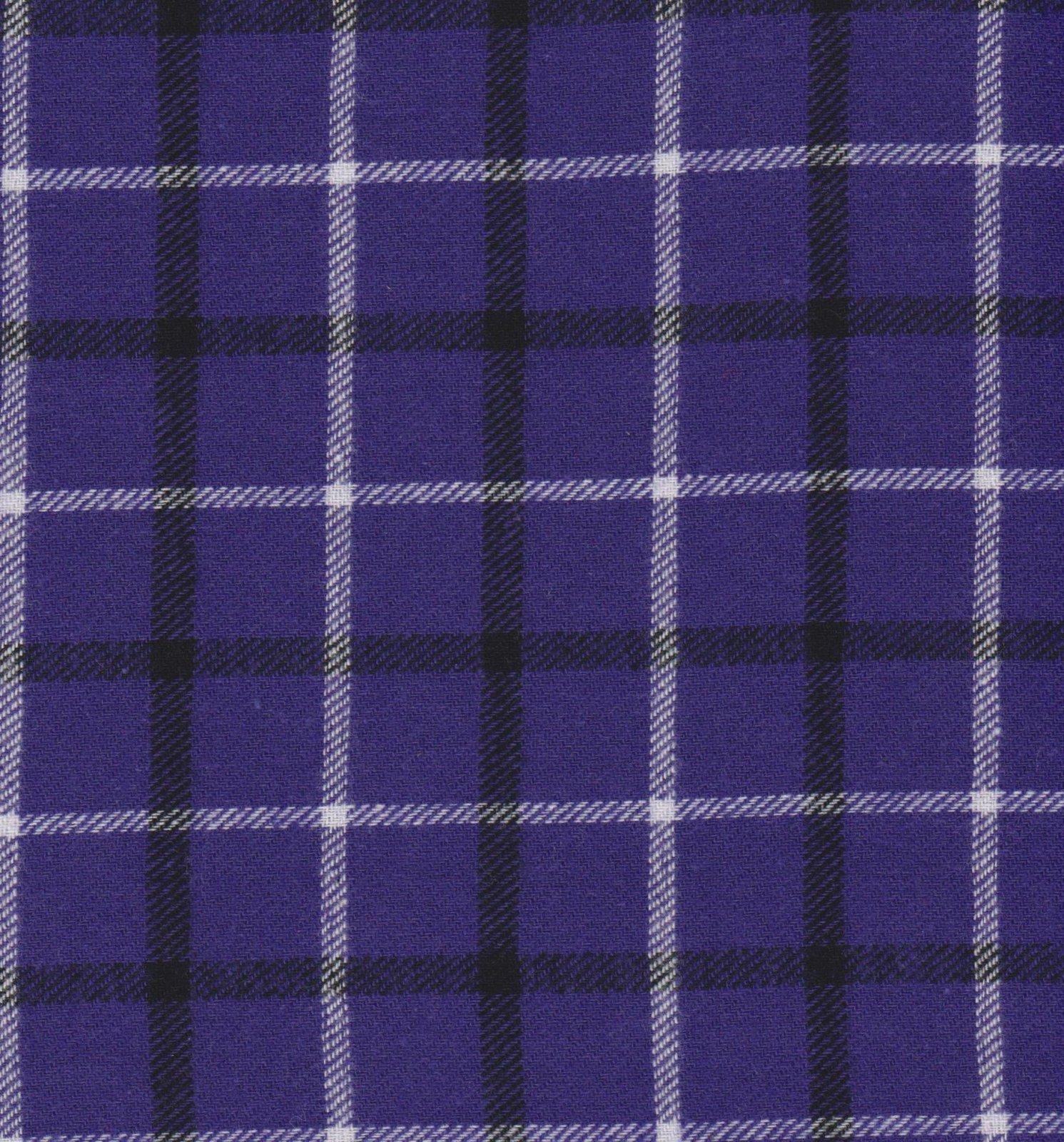 PROMO* Yarn Dyed Flannel Plaid - 2871 Nordic Purple