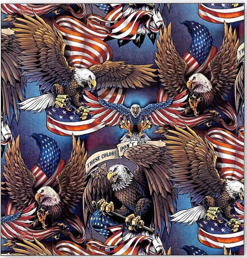 DT-Best of America AL-3739-8C Eagles & Flags