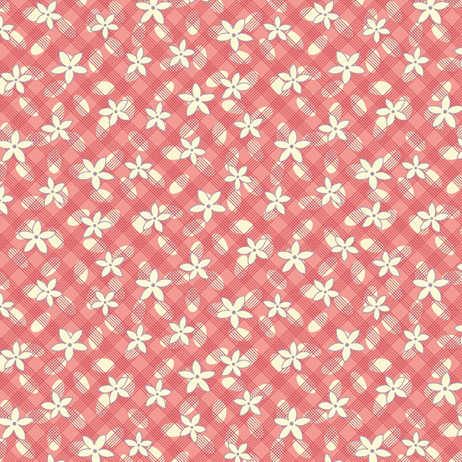 MF-Aunt Grace's Apron (1930's Reproduction) 0757-0126 Pink - Lazy Daisy
