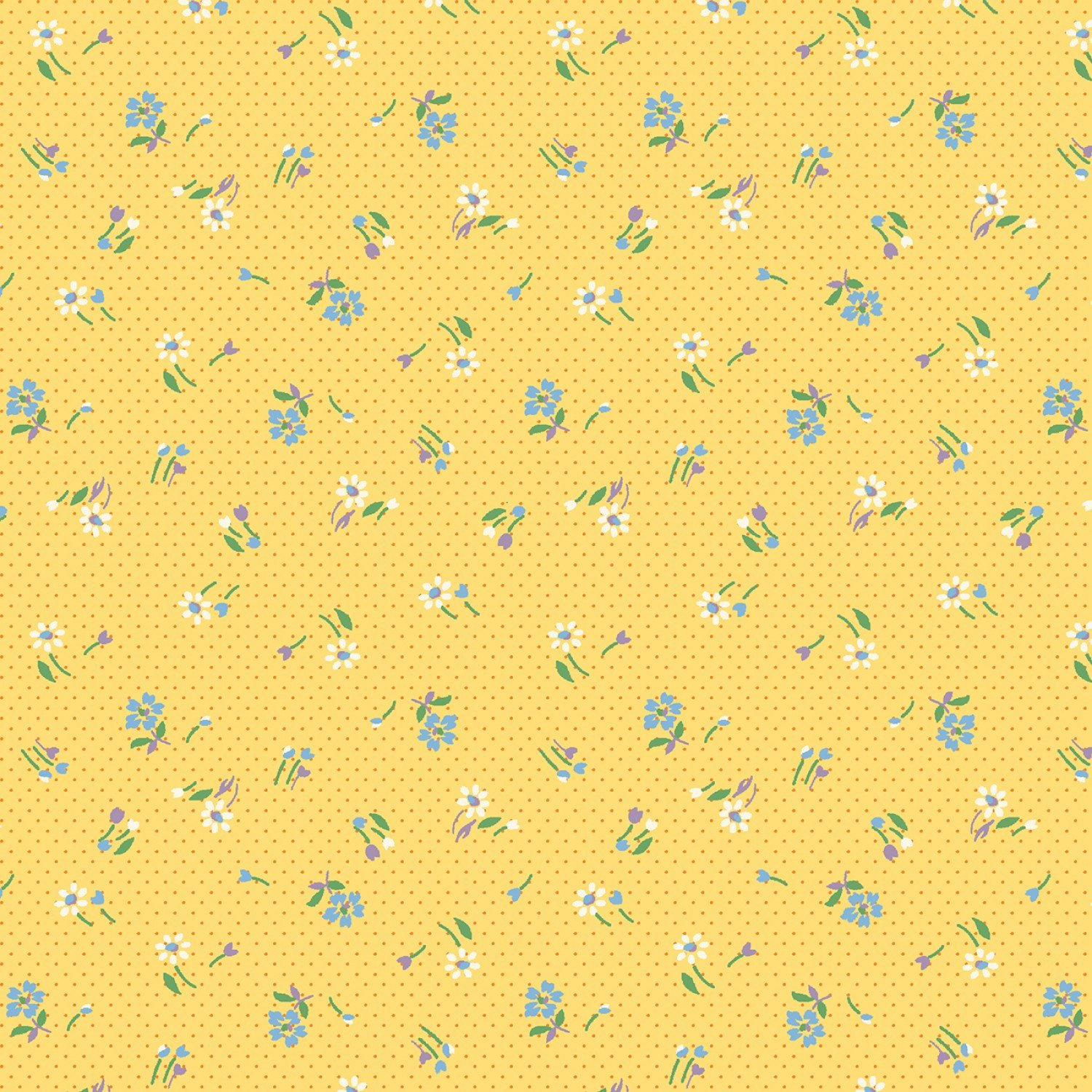 MF-Aunt Grace's Apron (1930's Reproduction) 0759-0133 Yellow - Mini Meadow