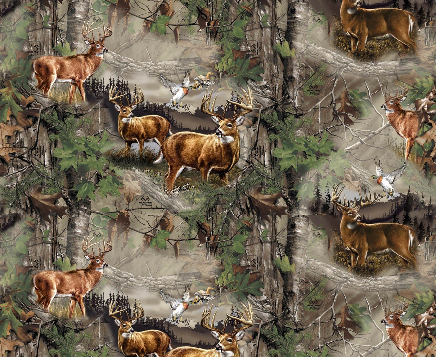 PC-Realtree Flannel 10169 Deer Country