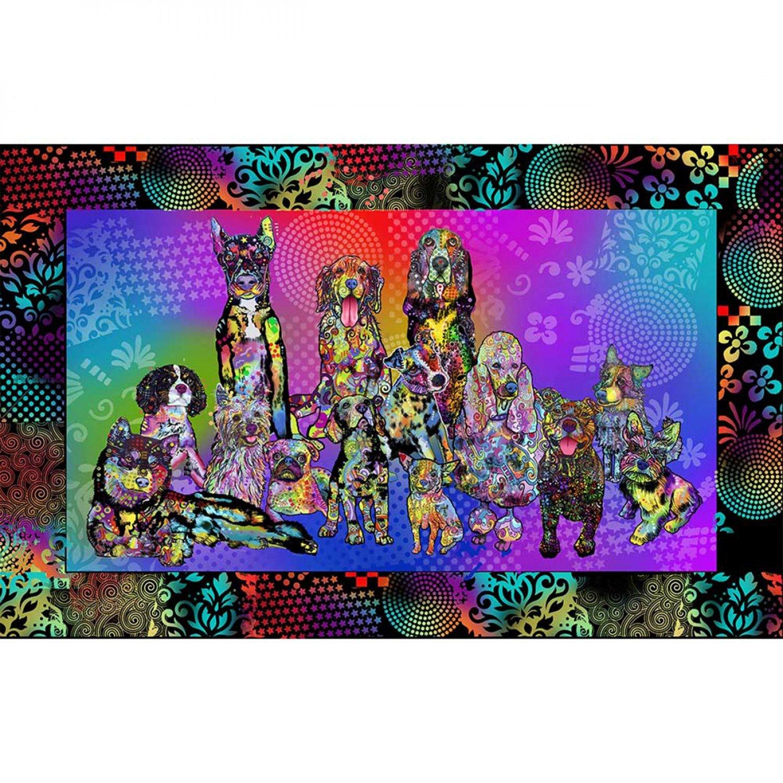 SF-Dog Days 10269 Dog Panel (24 x 44)