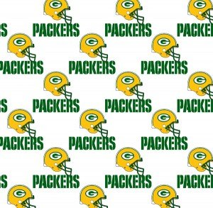 FT-NFL Cotton 1026 W Green Bay Packers